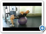 Blaise's Whole Body Ab Exercise on Ball Exercise