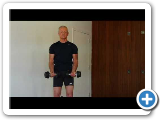 Blaise's Whole Body Dumbbell Bicep Curl Exercise